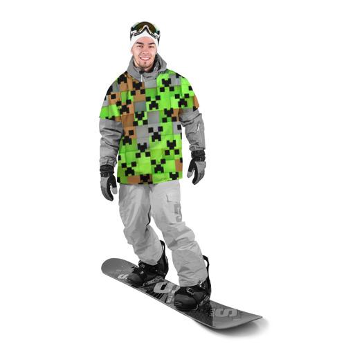 Накидка на куртку 3D Minecraft. Фото 01