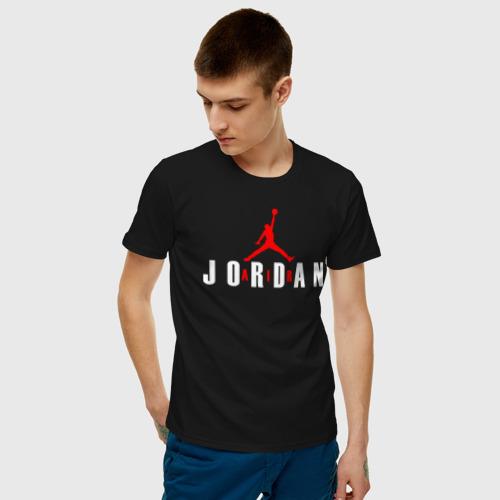 Мужская футболка хлопок AIR JORDAN - THE LASTT DANCE. Фото 01
