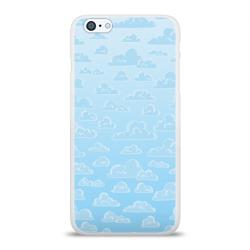 Очень светлые голубые облака