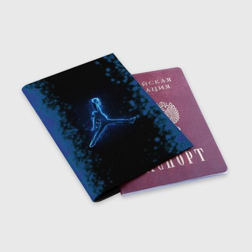 Обложка для паспорта матовая кожа MICHAEL JORDAN (Z) Фото 01