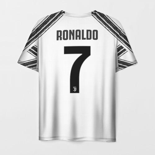 Мужская футболка 3D Ronaldo home 20-21 Фото 01