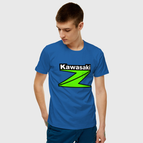 Мужская футболка хлопок KAWASAKI | КАВАСАКИ (Z) Фото 01