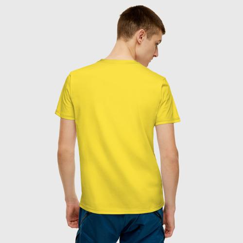 Мужская футболка хлопок Пицца Фото 01