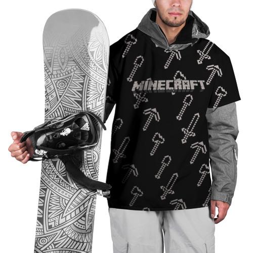 Накидка на куртку 3D МАЙНКРАФТ Фото 01