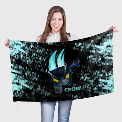 Флаг 3D Brawl Stars CROW Фото 01