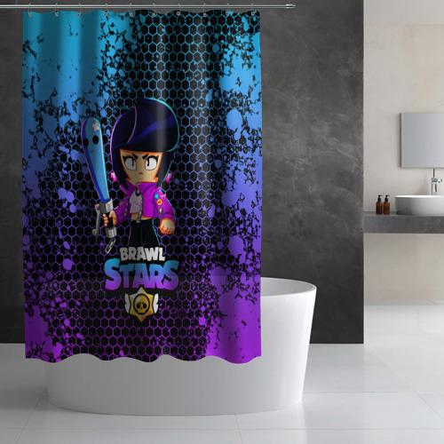 Штора 3D для ванной Brawl Stars BIBI Фото 01