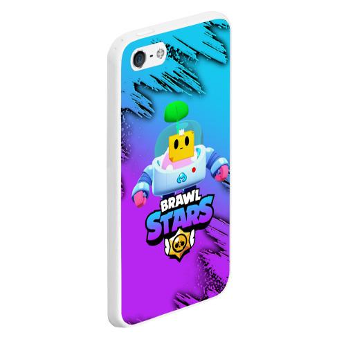 Чехол для iPhone 5/5S матовый Brawl Stars SPROUT Фото 01
