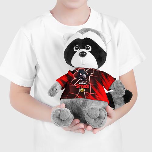 Енотик в футболке 3D Brawl Stars CROW Фото 01