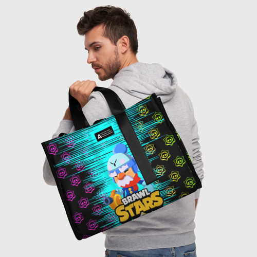 Сумка-шоппер 3D BRAWL STARS GALE. Фото 01