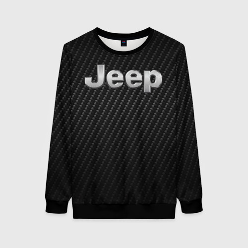 Женский свитшот 3D Jeep Carbone | Джип Карбон (Z) Фото 01