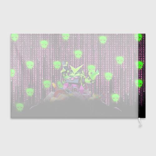 Флаг 3D Virus 8-Bit Фото 01
