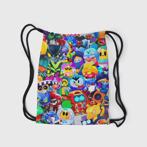 Рюкзак-мешок 3D Brawl stars   Все бравлы Фото 01