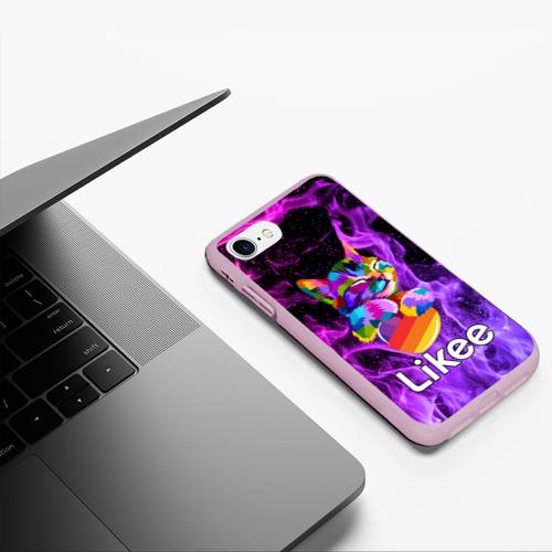 Чехол для iPhone 7/8 матовый Likee (LIKE Video) Фото 01