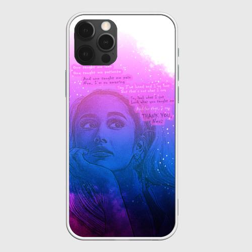 Чехол для iPhone 12 Pro Ariana Grande Thank You, Next Фото 01