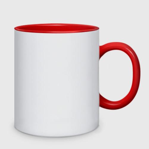 Кружка двухцветная Красная сакура Фото 01