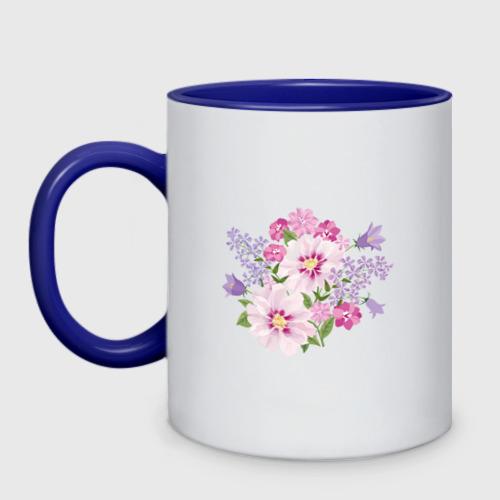 Кружка двухцветная Полевые цветы Фото 01