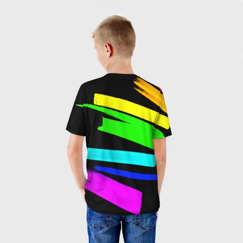 Детская футболка 3D НЕОНОВЫЕ КРАСКИ Фото 01