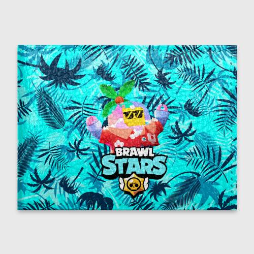 Обложка для студенческого билета BRAWL STARS TROPICAL SPROUT. Фото 01