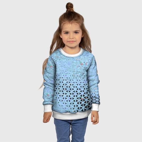 Детский свитшот 3D Математика Фото 01
