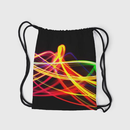 Рюкзак-мешок 3D АБСТРАКТНЫЕ ЛУЧИ Фото 01