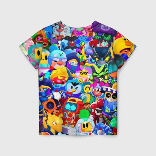 Детская футболка 3D Brawl Stars   Все новые бравлы Фото 01