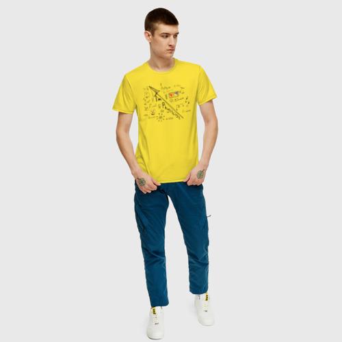 Мужская футболка хлопок Формулы физики Фото 01