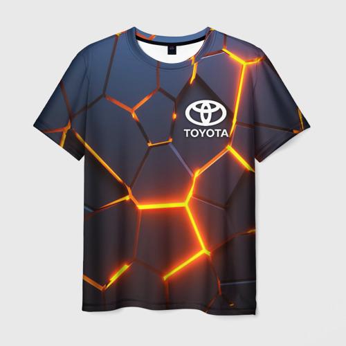 Мужская футболка 3D TOYOTA | ТОЙОТА Фото 01