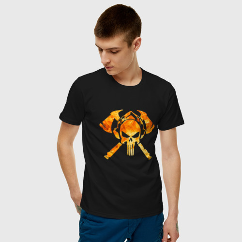 Мужская футболка хлопок Пожарный (Z) Фото 01