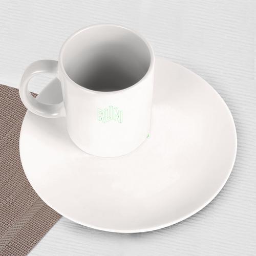 Набор: тарелка + кружка Run Фото 01