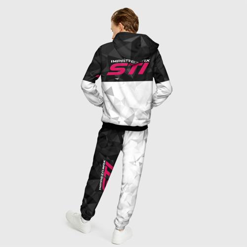 Мужской костюм 3D SUBARU WRX STI (+спина) (Z) Фото 01