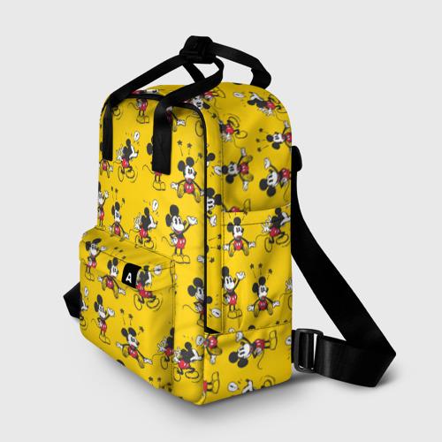 Женский рюкзак 3D Желтенький Микки Фото 01