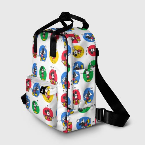 Женский рюкзак 3D Такой разный Микки Маус Фото 01