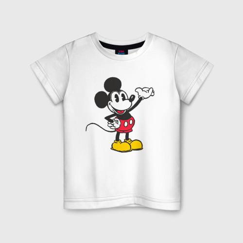 Детская футболка хлопок Микки Маус Фото 01