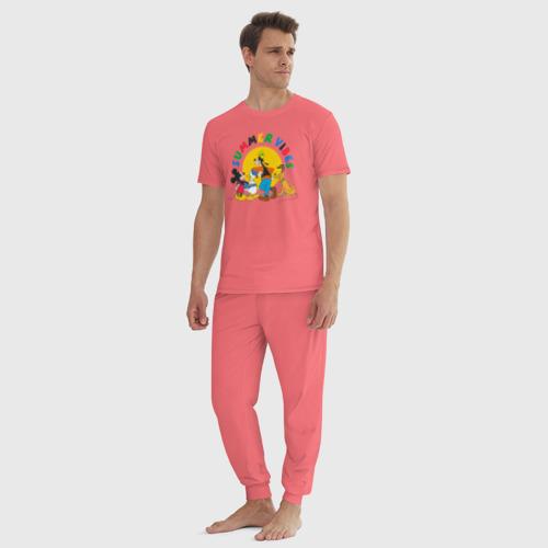 Мужская пижама хлопок Summer Vibes Фото 01