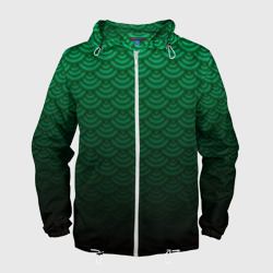 Узор зеленая чешуя дракон