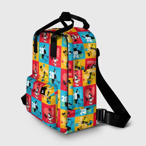 Женский рюкзак 3D Разный Микки Фото 01