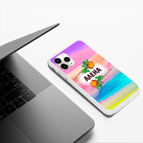 Чехол для iPhone 11 Pro Max матовый Алена Фото 01