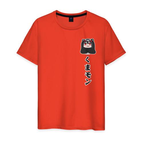 Мужская футболка хлопок кумамон Фото 01