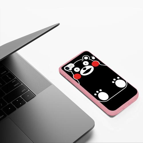 Чехол для iPhone 6/6S матовый Kumamon сидит Фото 01