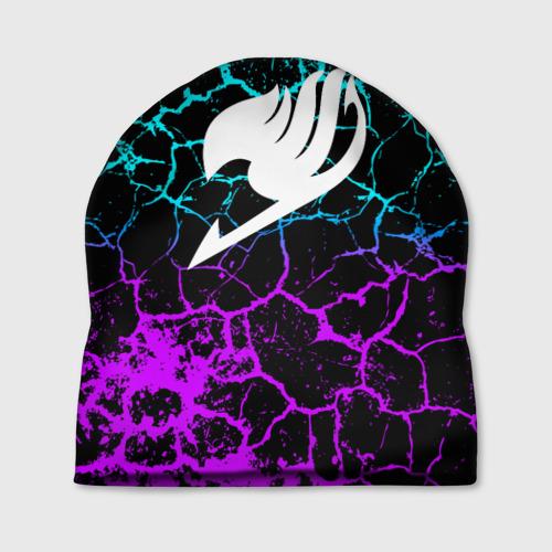 Шапка 3D Helmet Fairy tail blue and purple Фото 01
