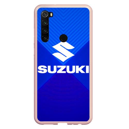 Чехол для Xiaomi Redmi Note 8 SUZUKI. Фото 01