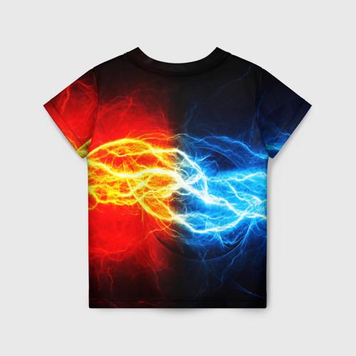 Детская футболка 3D БИТВА МОЛНИЙ Фото 01