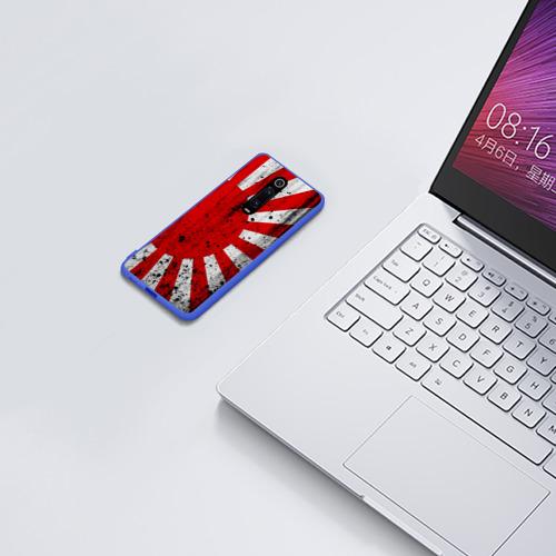 Чехол для Xiaomi Redmi Mi 9T ЯПОНСКИЙ ФЛАГ Фото 01