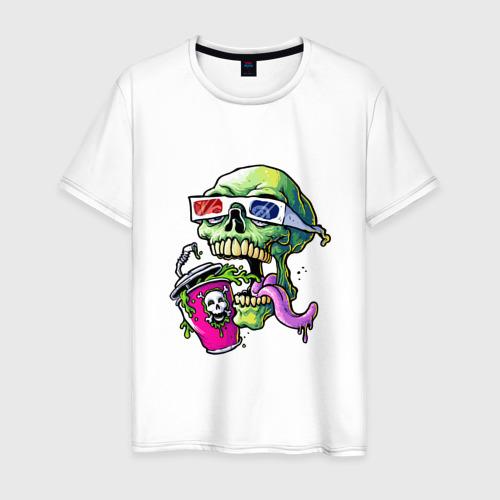 Мужская футболка хлопок  Cool skull Фото 01