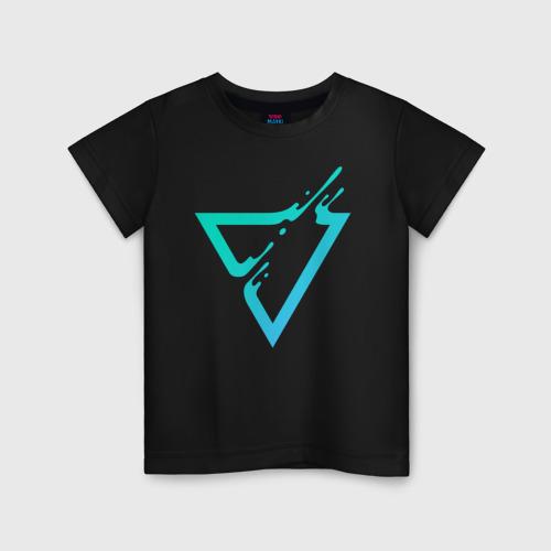 Детская футболка хлопок Paint Drop Triangle Фото 01
