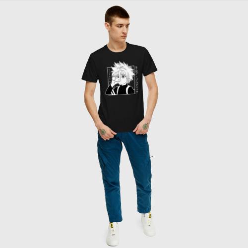 Мужская футболка хлопок Killua Hunter x Hunter Киллуа за  1190 рублей в интернет магазине Принт виды с разных сторон