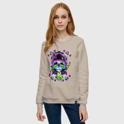 Crazy skull