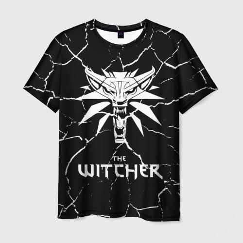 Мужская футболка 3D The Witcher. Фото 01