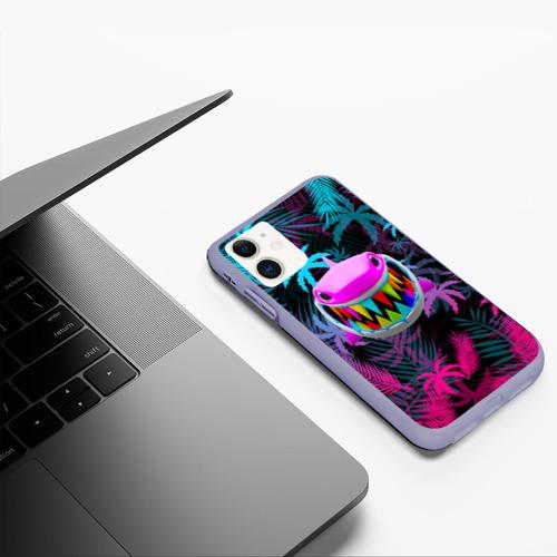 Чехол для iPhone 11 матовый 6IX9INE (69) Фото 01