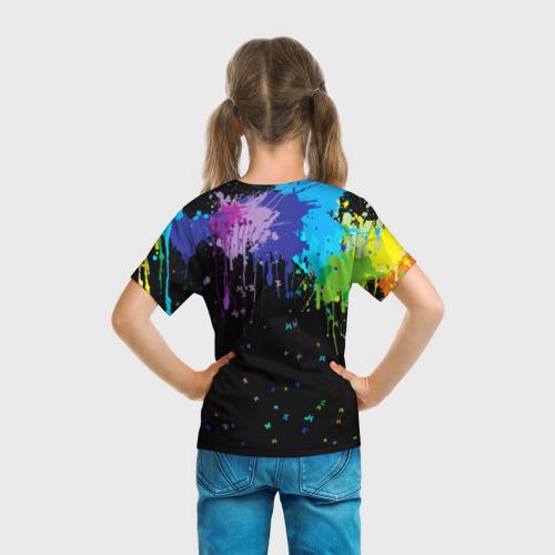 Детская футболка 3D BRAWL STARS NANI. за  1090 рублей в интернет магазине Принт виды с разных сторон